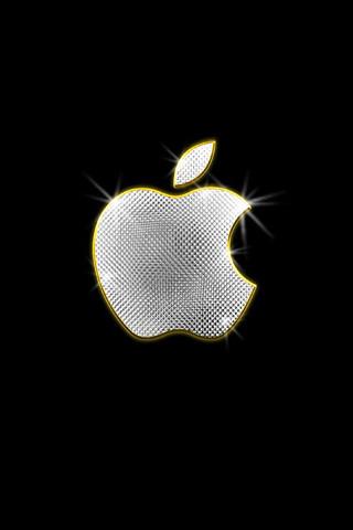 apple bling iphone wallpaper flickr photo sharing