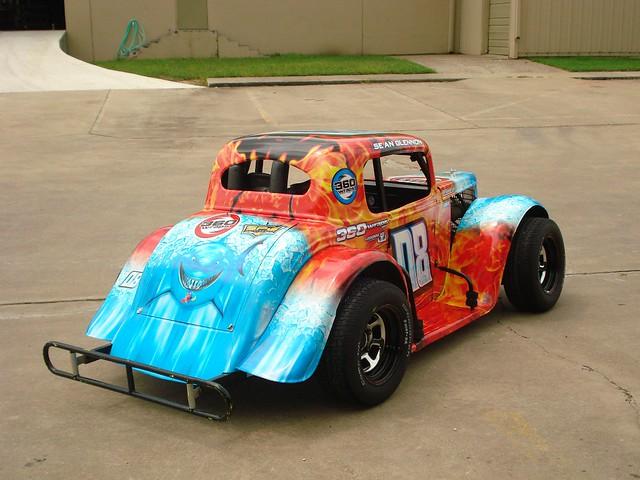 race car wrap machine