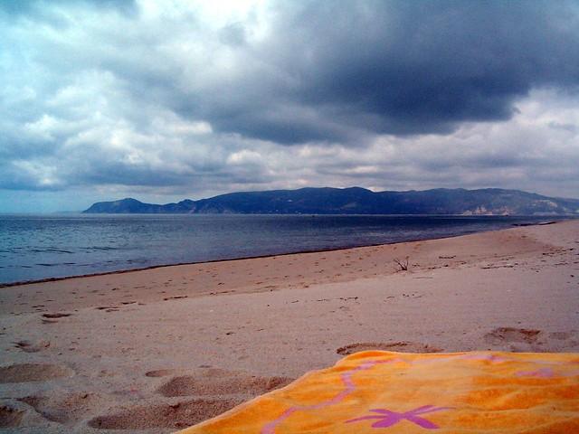 Serra da Arrábida vista da Praia Atlântica I / View of Arrabida Mountaint from Atântica Beach I