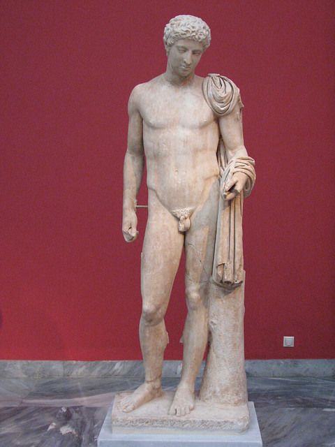 Statue of Hermes. National Archaeological Museum of Athens.