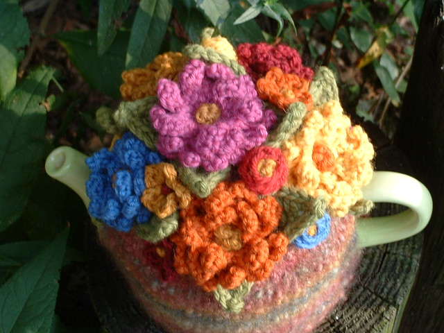 Handknitted and Felted 4-Cup, Fujifilm FinePix2650
