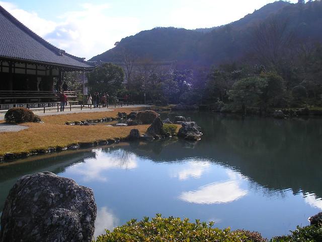 Tenryuji, Arashiyama, Kyoto, 31st December 2008