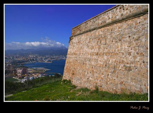 castle spain northafrica fortaleza septa frontera castillo frontier española ceuta caballa estrechogibraltar ceutí montehacho