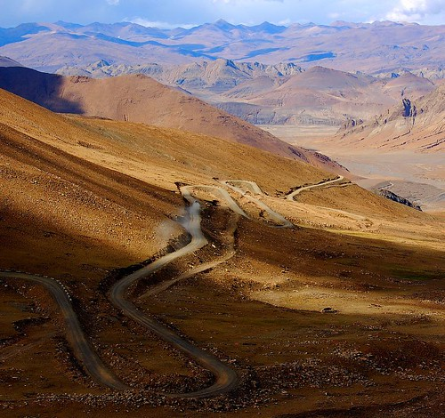 long and winding roads, Tibet