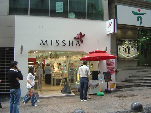 Missha in Seoul, Korea