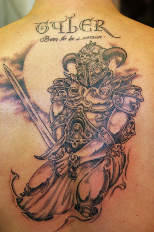 Gudu ngiseng blog warrior tattoo for Tribal warrior tattoos
