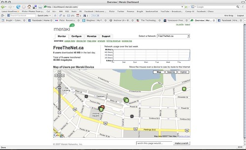 Vancouver FreeTheNet.ca Mesh Network Diagram
