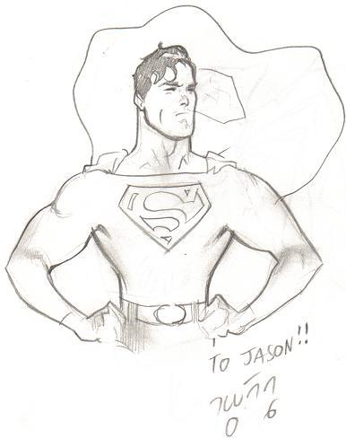 Superman by Daniel Acuña (New York Comic Con 2006)