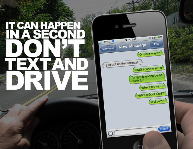 dont text and drive 2 essay Make good decisions - don't text and drive behind the wheel is no place to multi-task if you want to brb, drive now and text later project yellow light 2018 high school winner alison hendricks reminds us that your selfie can always wait send it later.