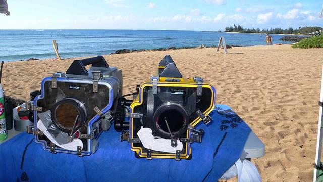 Underwater housings, 35mm
