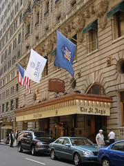 The St. Regis Hotel (2 E 55th St at 5th Ave - New York) by scalleja, on Flickr