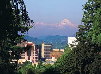 Washington Park in Portland, Oregon