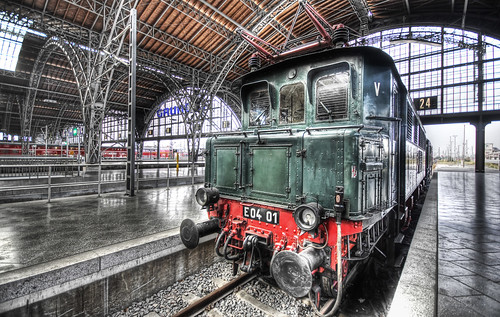 Leipzig Train Station