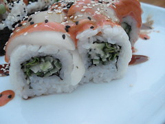 fish(0.0), meal(1.0), california roll(1.0), rice(1.0), sushi(1.0), gimbap(1.0), japanese cuisine(1.0), food(1.0), dish(1.0), cuisine(1.0), asian food(1.0),
