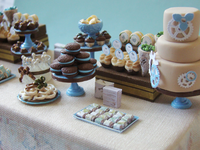 Miniature Dessert Table - Alice Project - Shauna Younge Replica #1