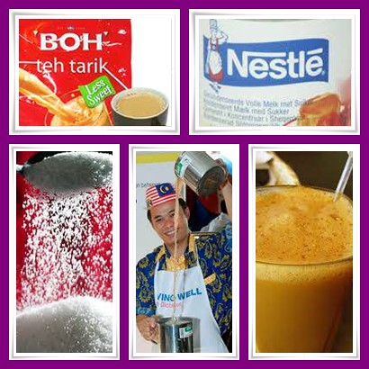 Making of Teh Tarik