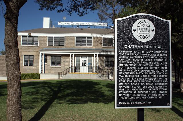 Chatman Hospital Lubbock Texas Plains Trail Region