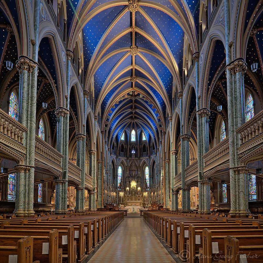 Ottawa Church Notre Dame Notre-dame Cathedral Ottawa