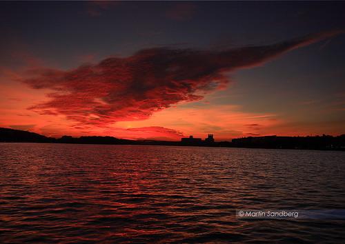 sunset crimson clouds stockholm gap scandinavia sigma1020 canoneos400d mygearandmepremium mygearandmebronze mygearandmesilver mygearandmegold