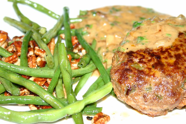 100: Gravy-Smothered Cajun-Style Meatloaf Patties with Maple Pecan ...