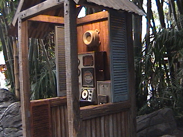 FunPhone, Waiting Area, Queue, Indiana Jones™ Adventure, Temple of the Forbidden Eye, Adventureland, Disneyland®, Anaheim, California, 2007.01.30 16:25