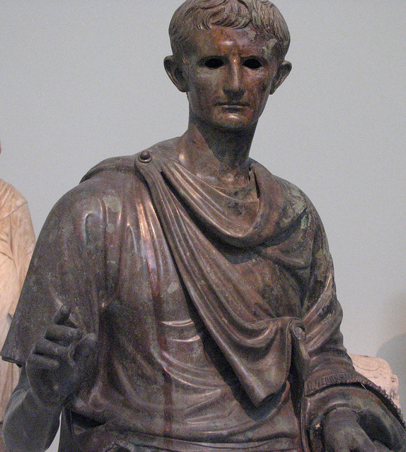 Caesar Augustus. National Archaeological Museum of Athens.