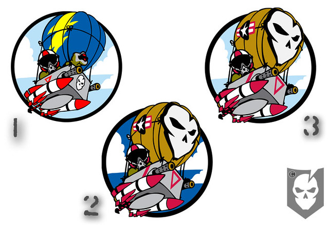 Combat Hot Air Balloon Pilot Patch Choices   Flickr - Photo Sharing!