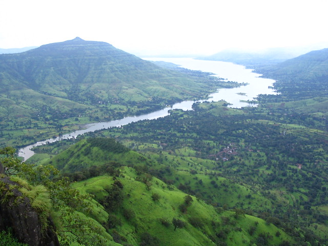 Krishna Valley in Mahabaleshwar