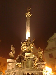 Marian Column, Cesky Krumlov