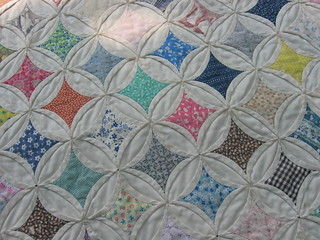 Cathedral Windows Quilt