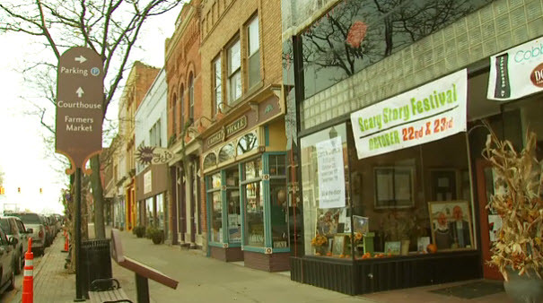downtown howell michigan  howell is piloting a new ibm cloud computing venture