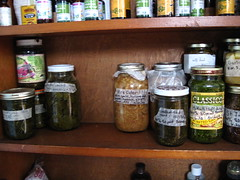 produce(0.0), bottle(1.0), food preservation(1.0), food(1.0), pantry(1.0), canning(1.0),
