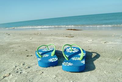 Flip Flops, Blue