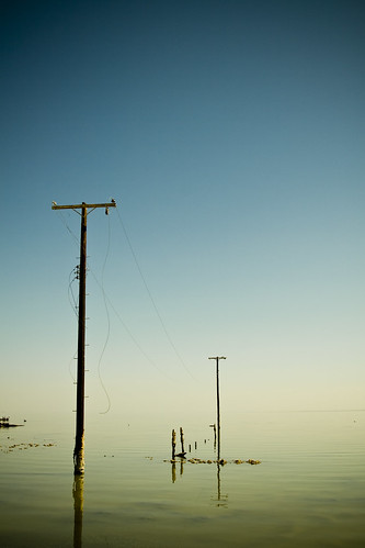 Power Lines of Bombay Beach