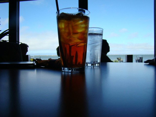 Iced Tea & Water
