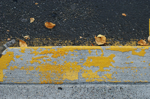 Yellow curb