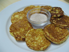 meal, breakfast, fried food, vegetarian food, fritter, crumpet, food, dish, cuisine, snack food, potato pancake, pancake,