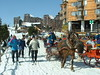 Travel in style through car free Avoriaz