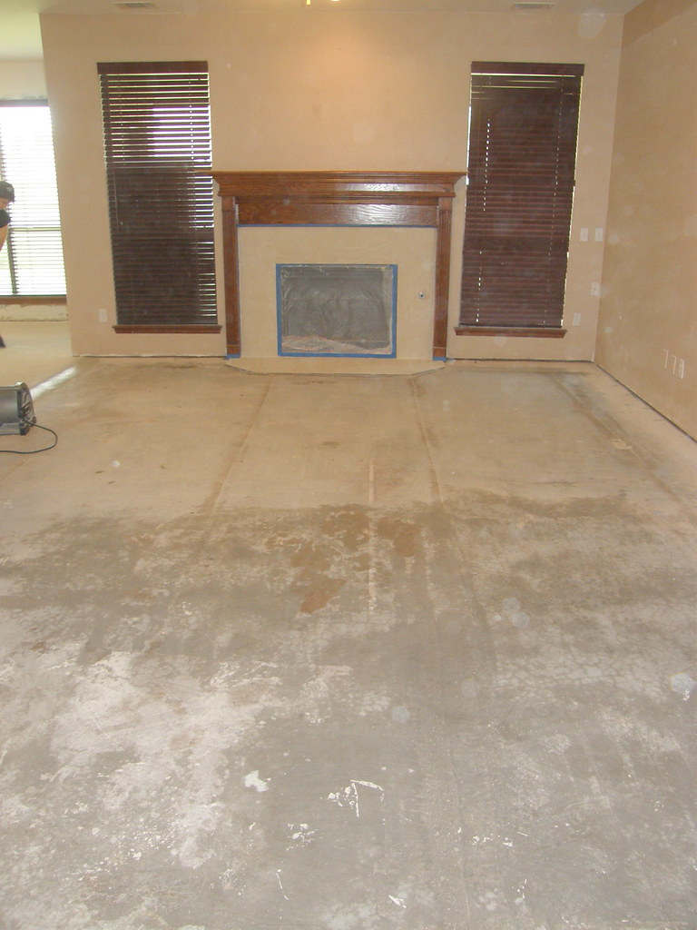 Cleaning Stained Concrete Floors Concrete Floors Clean