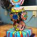 Roy Lichtenstein pop-art cake unfinished by chikadodle2000