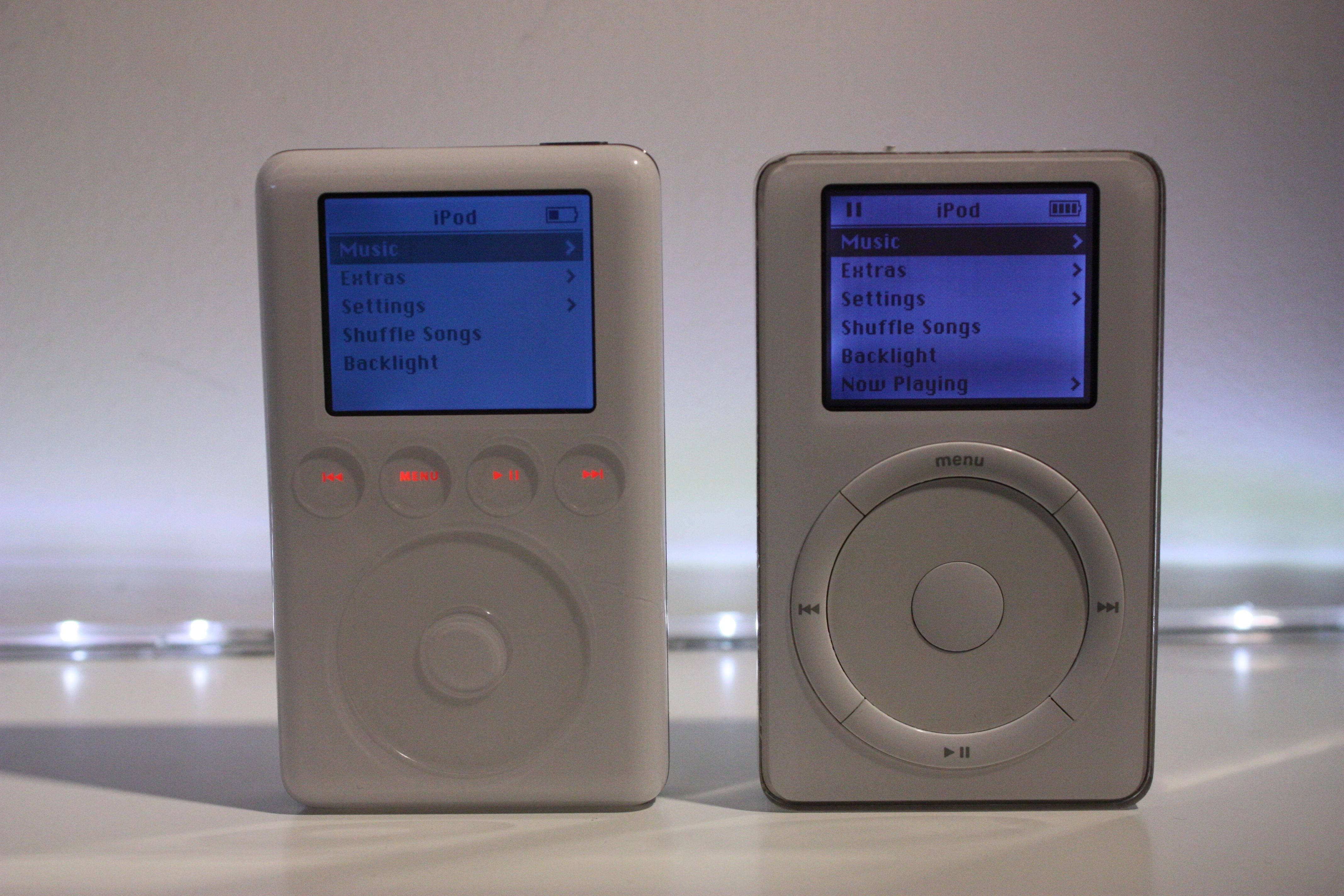 iPod 2nd Gen 10GB v iPod 3rd Gen 40GB | Flickr - Photo ...