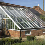 A Peach-house replacement lean-to greenhouse.