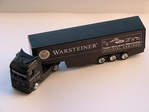 Warsteiner-Formel1-Minitruck