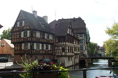 Buildings in Petit France, Strasbourg
