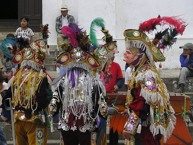 Conquista dance - Nebaj fair