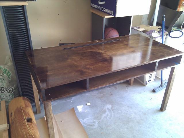 Homemade Desk | Flickr - Photo Sharing!