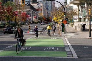 Dunsmuir Separated Bike Lanes 22