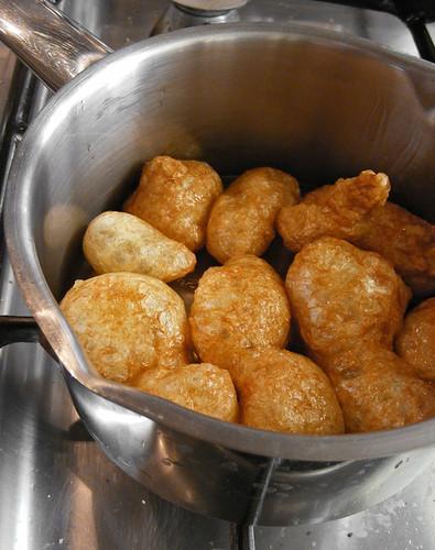 Seitan frituren