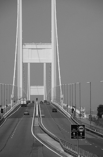 Portrait of the Severn Bridge