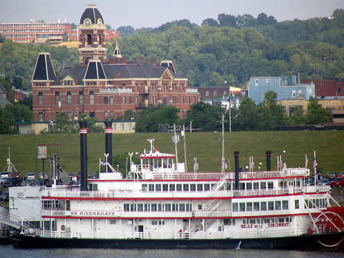 A Riverboat and a Courthouse